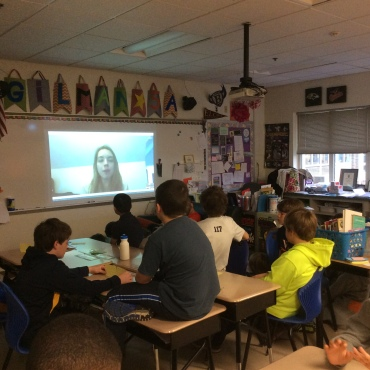 Skype Call with a representative from Water for South Sudan